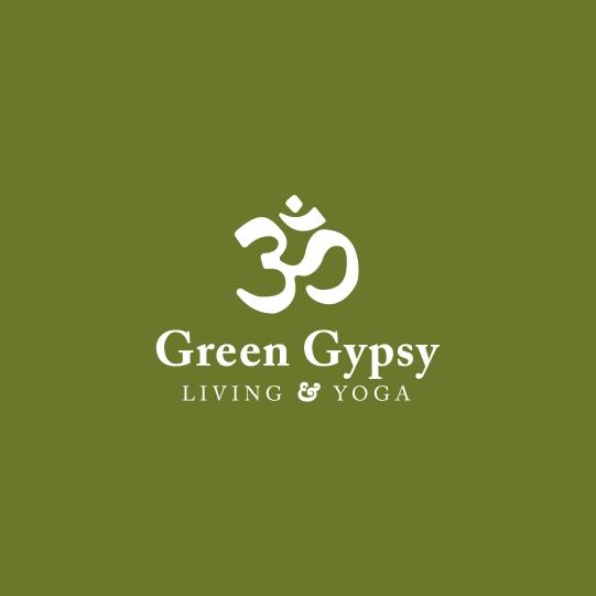 Green Gypsy Living & Yoga Logo