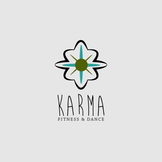 Karma Fitness and Dance Studio Logo