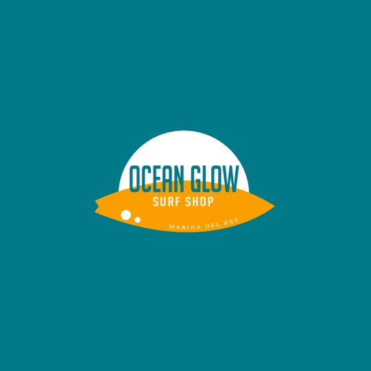 Ocean Glow Surf Shop Logo