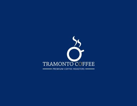 Tramonto Coffee Logo Reverse