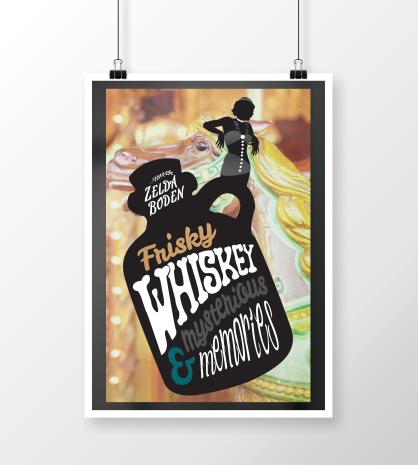 Zelda Boden Whiskey Promotional Poster