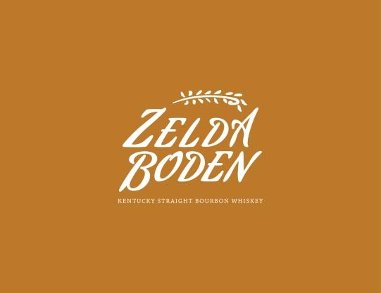 Zelda Boden Whiskey Logo
