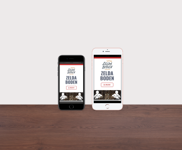 Zelda Boden Mobile App